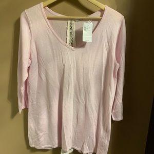 Rickis pink lightweight sweater